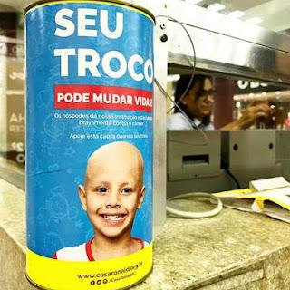 AD Shopping e Casa Ronald McDonald-RJ promovem 'Projeto Cofrinho'