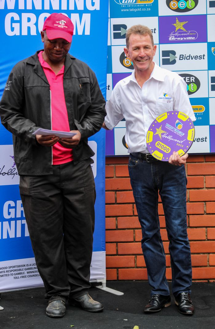 Grooms Initiative Winner - 26th December 2019 - Race 2 - Bongilizwe Mlindi - THEMBA