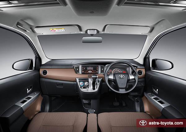 Interior Toyota Calya Tipe G