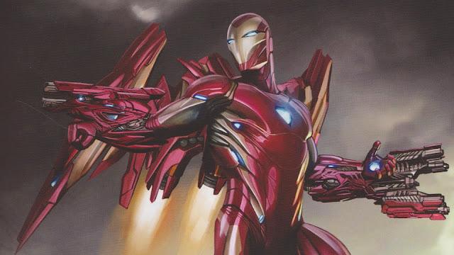 Comic Characters' Iron Man – Tony Stark