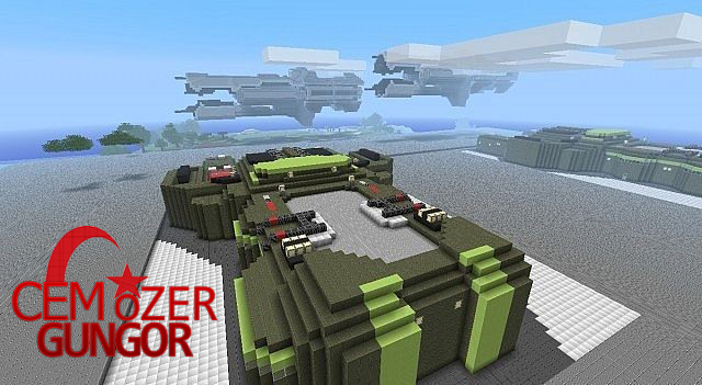 Halo Minecraft Wars