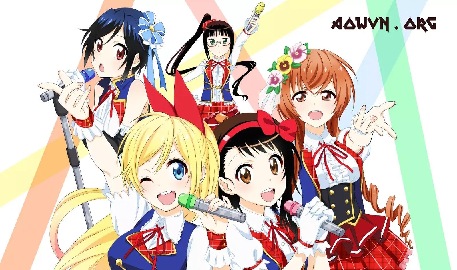 AowVN Nisekoi%2B%25282%2529 - [ Anime 3gp Mp4 ] Nisekoi BD SS1 + SS2 + OVA | Vietsub - Tình Cảm Hài Hước Cực Hay