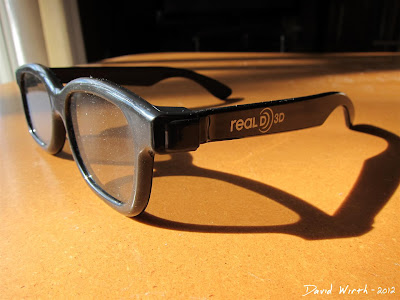 Real D 3D Glasses Polarized