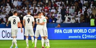 ريال مدريد يقسو على العين برباعيه ويحقق بطولة الأندية ملخص اللقاء