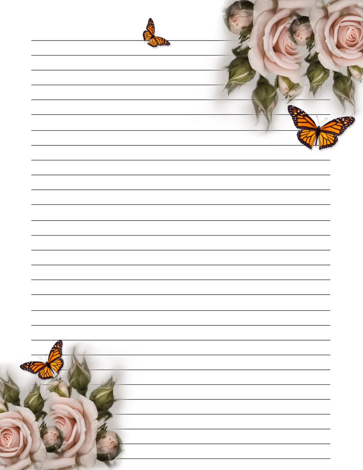 Influential image within free printable note paper