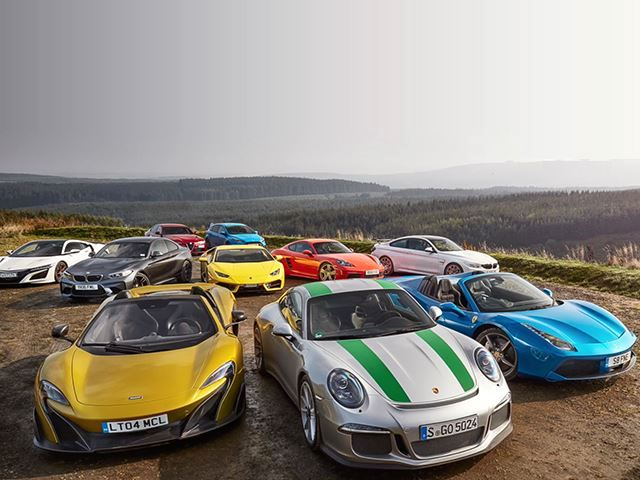 Insane Sports/Super Car Test Gathers Almost Every Contender