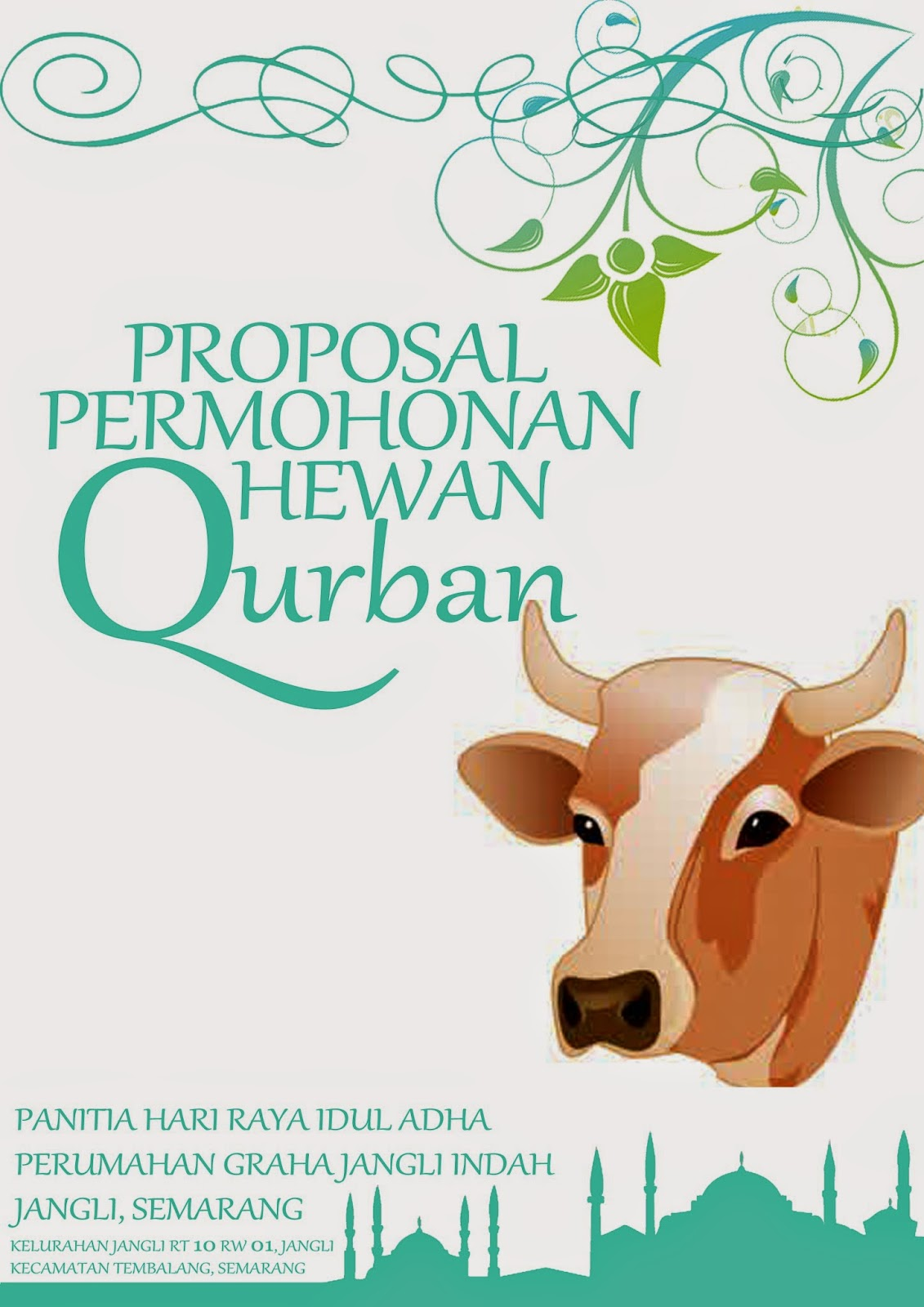 Proposal Panitia Qurban Sukadesain