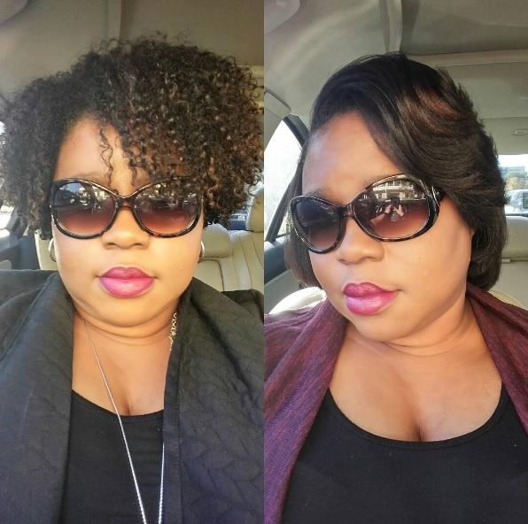 Natural Hair Blowout