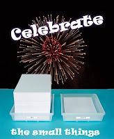 Celebrate the Small Things blog meme badge