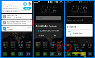 Wd-Kira, Cara manual install update firmware Asus Zenfone, Cara upgrade Android lollipop Asus Zenfone 4,5,6