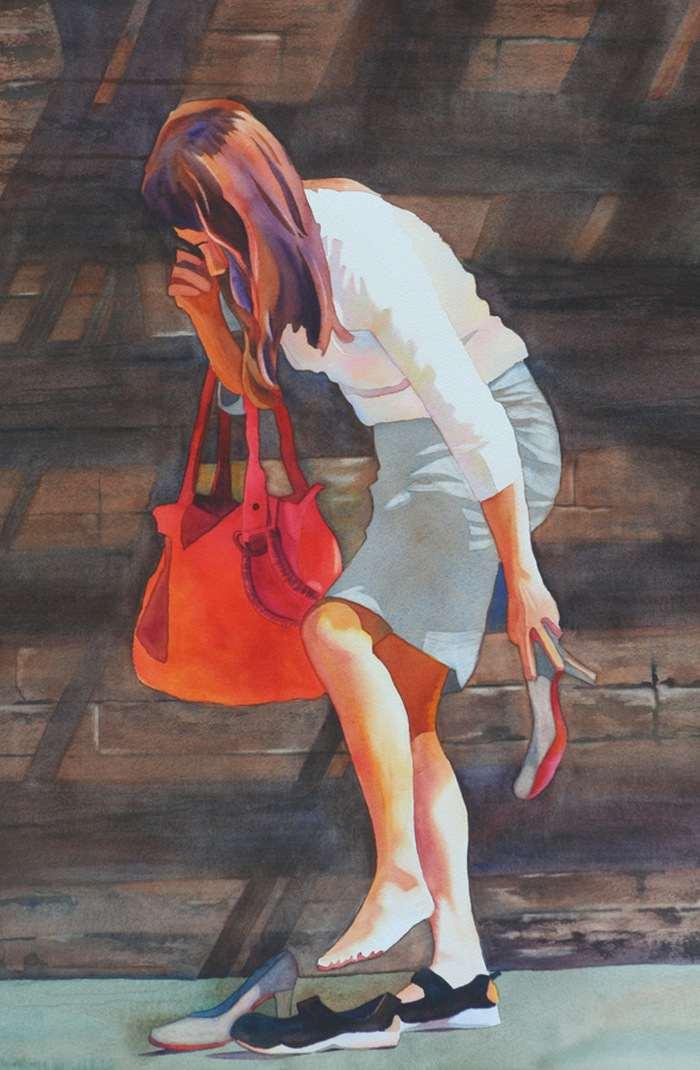 Канадский художник. Anne Abgott