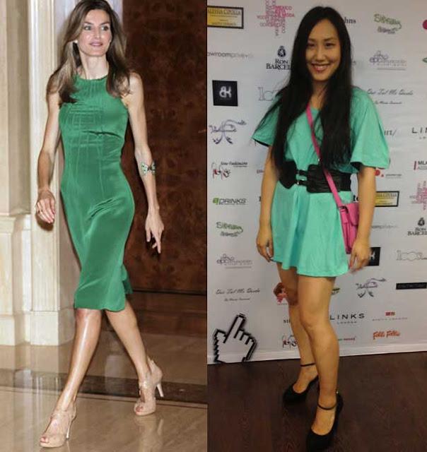 vestido verde look