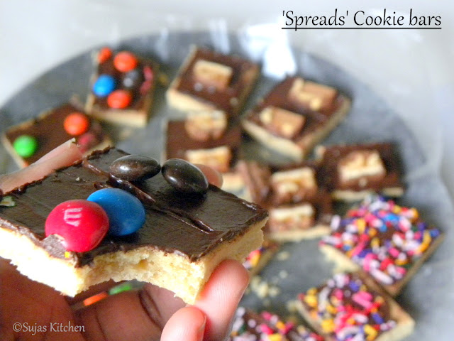 How to bake quick, easy & colorful Cookie bars