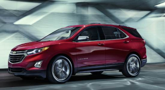 2018 Equinox Release Date and Price Canada