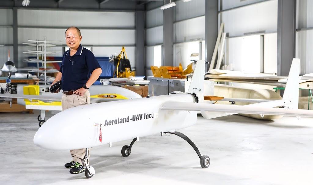 這家只有6人的台南小公司,做出了台灣民間最大型的無人機