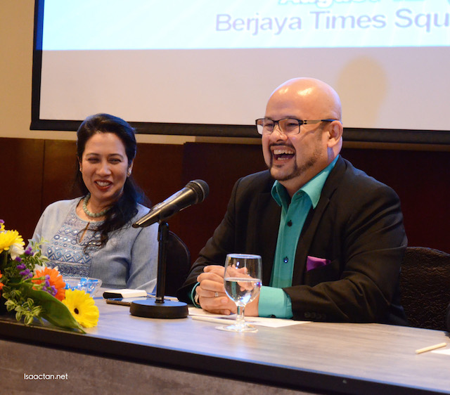 Harith Iskandar, with his signature laughter
