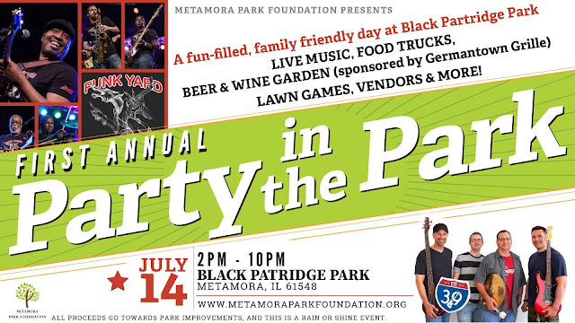 Party in the Park Needs Sponsors and Volunteers, Metamora Herald