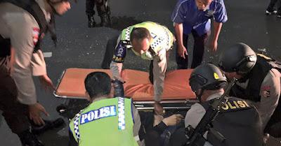 Dua Kecelakaan Warnai Awal Tahun Baru di Jakarta