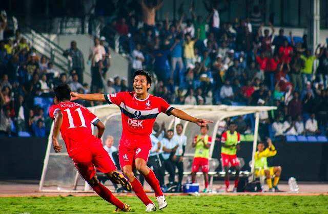 Hero I-League 2016-17: DSK Shivajians and Bengaluru FC play a 2-2 draw