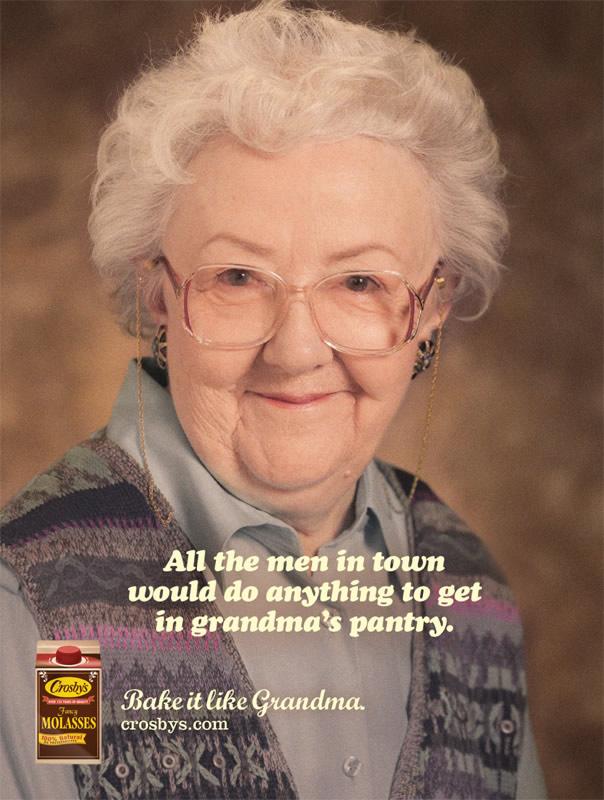 Copyranter Sexual Innuendo Campaign Of The Week Grandma -1830