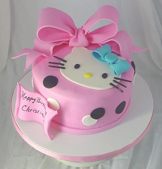 Birthday Cake Hello Kitty Cakes