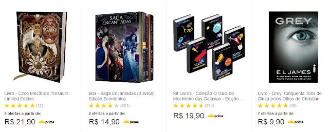 Livros por menos de R$30,00