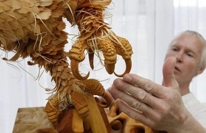 Сергей Бобков. Скульптуры из дерева 13