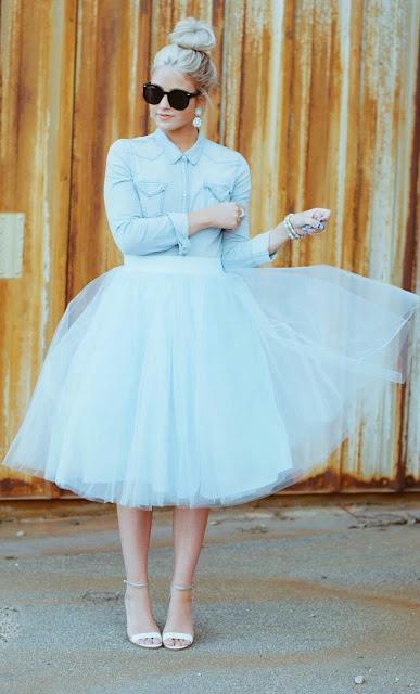Stunning tulle skirt