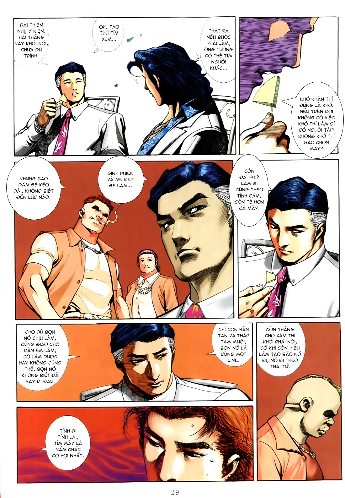 Người Trong Giang Hồ chapter 556: làm khó nam đẹp trai trang 21