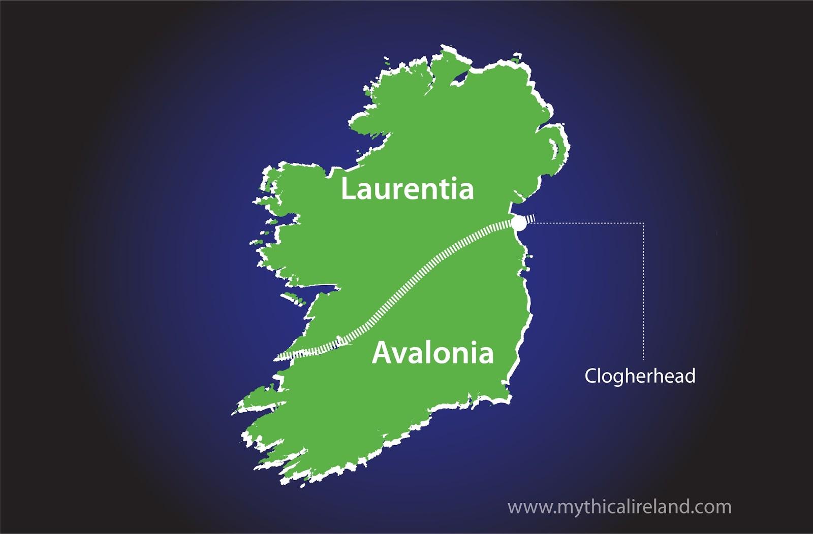 Map Of Ireland Newgrange.Mythical Ireland Blog The Remarkable Geological Secret Behind The