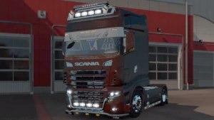 Scania R700 truck mod 2.0
