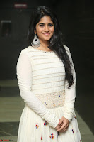 Megha Akash in beautiful White Anarkali Dress at Pre release function of Movie LIE ~ Celebrities Galleries 049.JPG