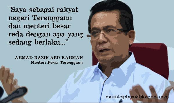 Teks ucapan Ahmad Razif disabotaj?