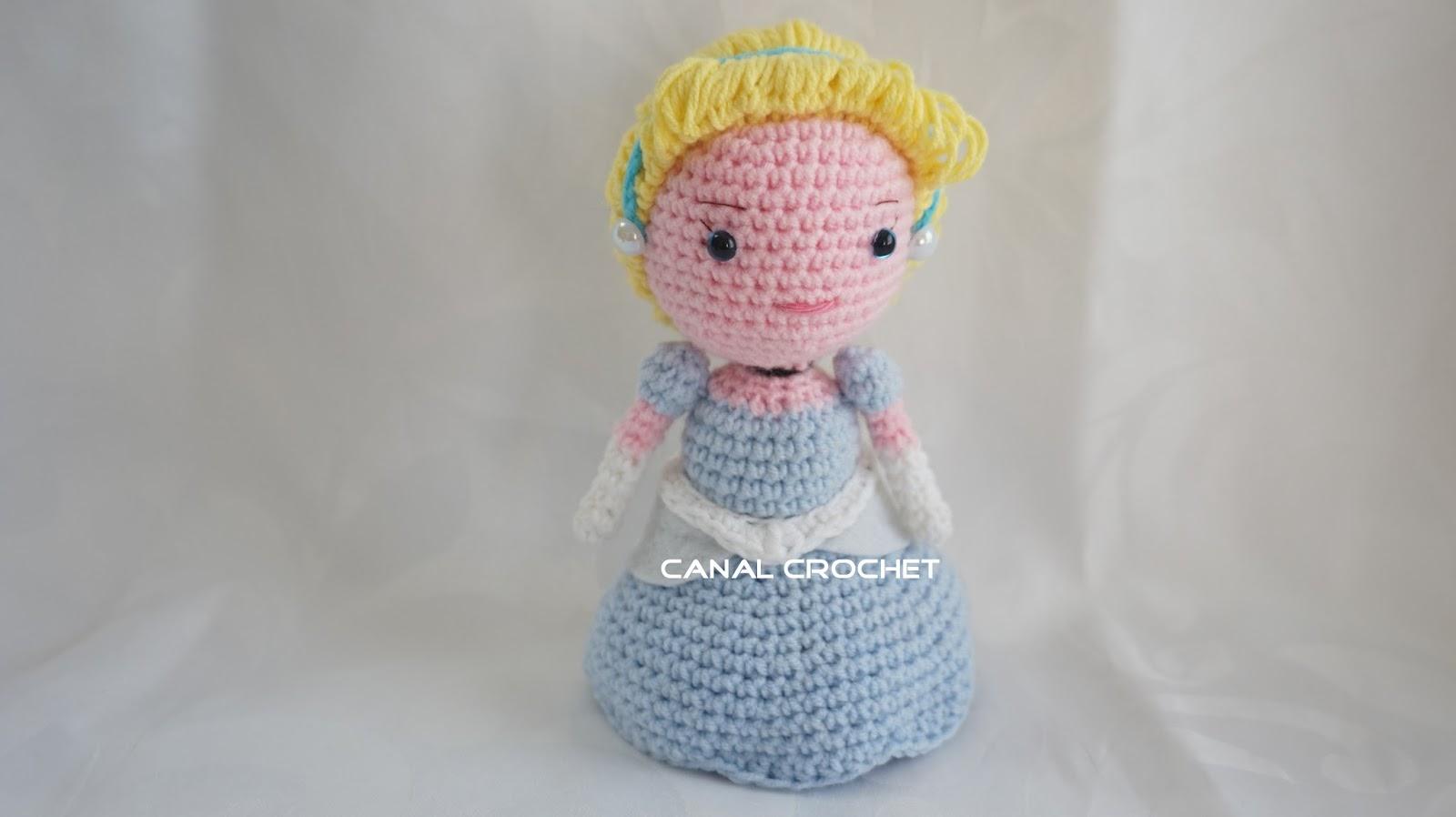 Amigurumilacion : Canal crochet: princesas amigurumis tutorial
