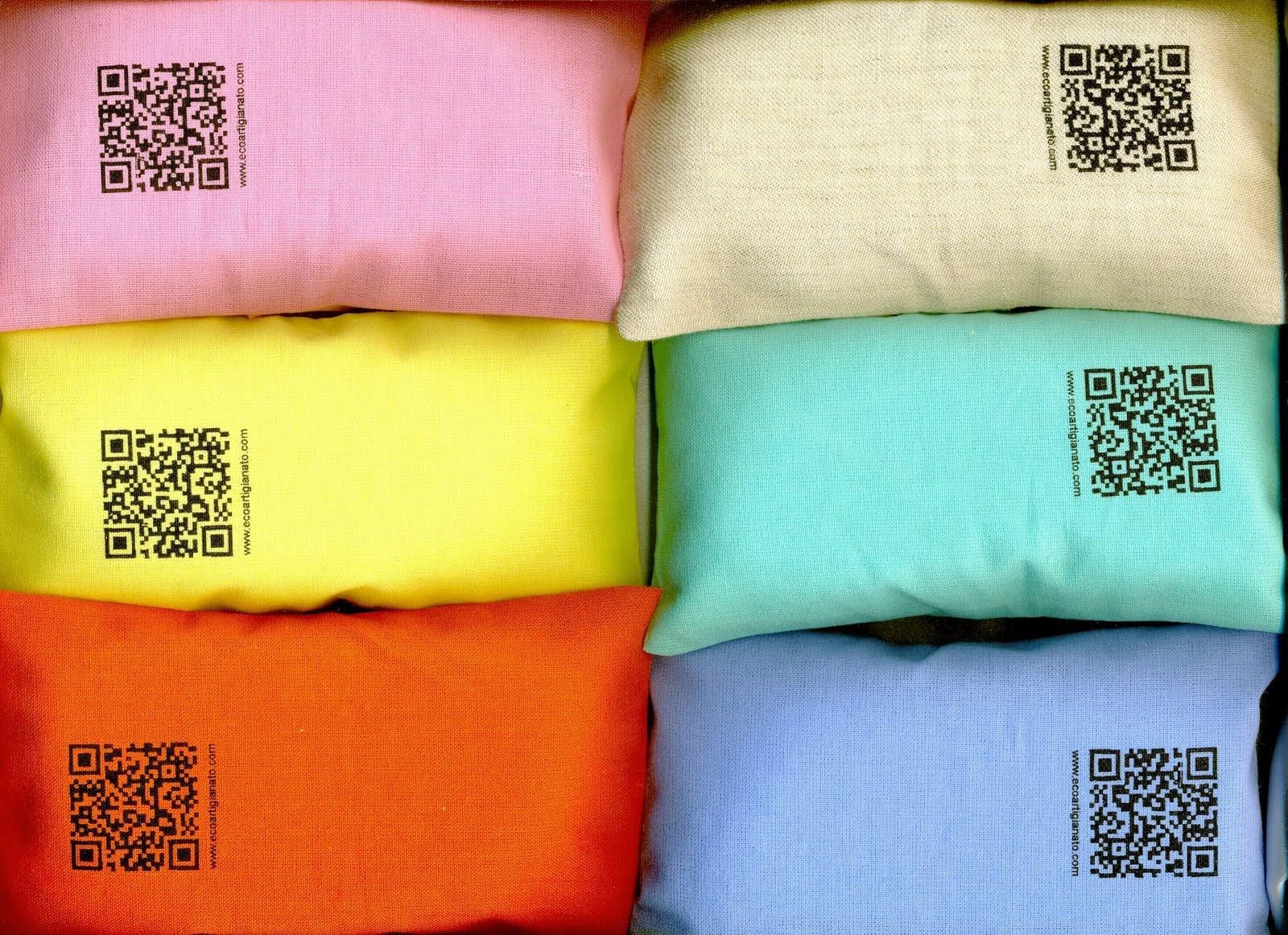 Cuscino semi di lino microonde