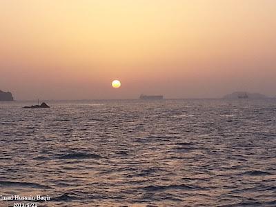 رحلة بحرية بندر الروضة ..مسقط..مطرح تصوير عماد بن حسين باقر