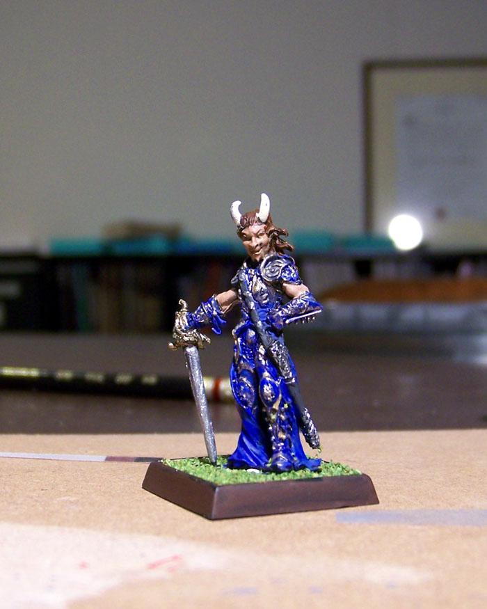 Tiefling Bard Miniature