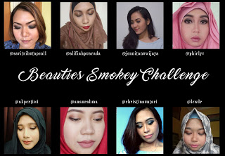 Beautiesquad smokey eyes challenge