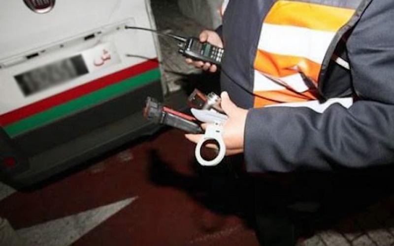 توقيف شرطي سرق دراجة نارية في طنجة