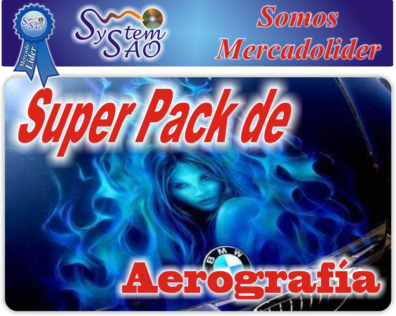 Super Pack Aerografia