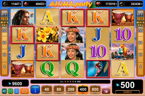 Jucati acum Aloha Party Online