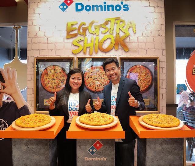 Domino's Pizza Memperkenalkan Salted Egg Pizza yang Baru!