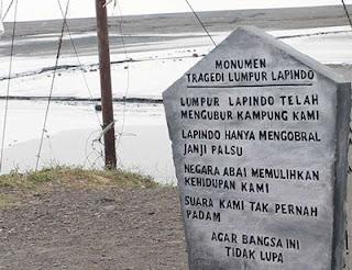 Monumen Lumpur Lapindo, Sidoarjo