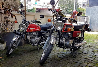 Honda CB200 twiN 1975 full paper +pajak ON+90% originaL HM354..tinggal pilih.