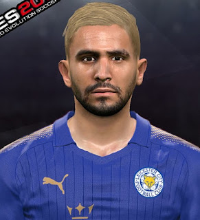 PES 2017 Faces Riyad Mahrez by Youssef Facemaker