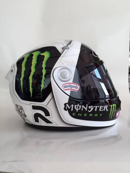 Champion Helmets Hjc Lorenzo Indianapolis 2015 Moon Helmet