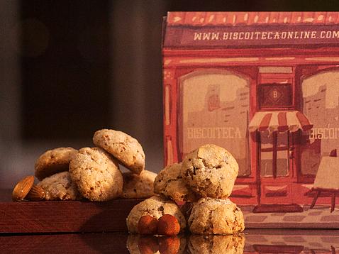 Caixa de presente exclusiva Biscoiteca - Foto divulgação