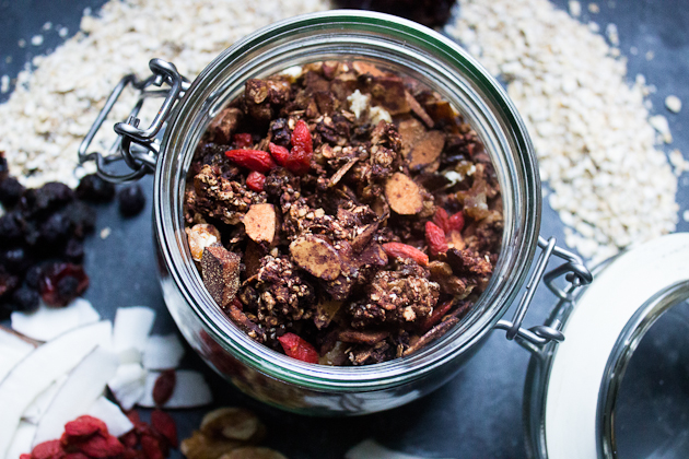 Healthy Vegan Granola Recipes
