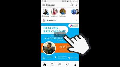 Cara Mute Instagram Story dan Post Orang lain