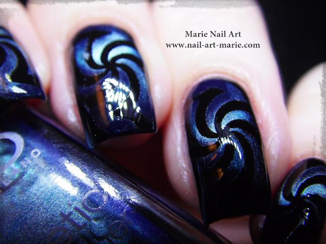 Nail Art Magnétique Hypnotisant3